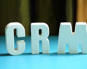 Arrange White Letters As Crm